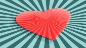 Láska relativní oslava kartu pozadí