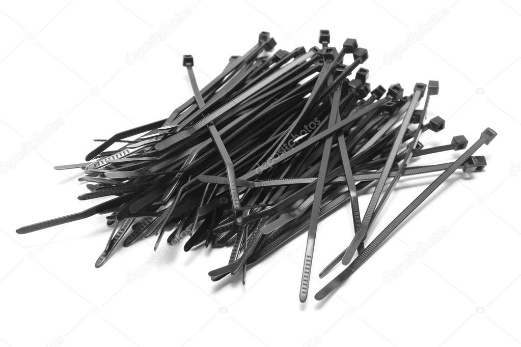 Kunststoff-Kabelbinder — Stockfoto © ibogdan #88096482