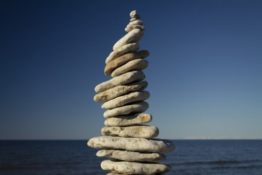 stones stacked on each other