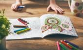 Fotografie Děti malovat omalovánky