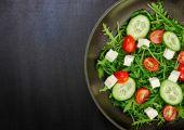 Fotografie gesunde Lebensmittel