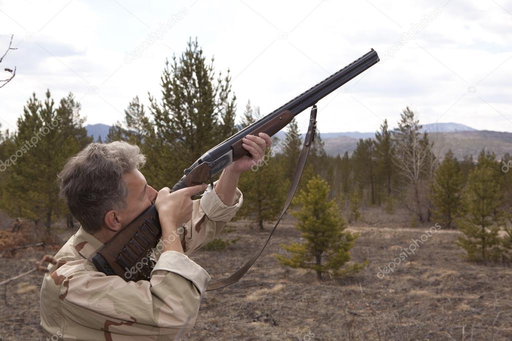 охота с ружьем бронко фото стал внимательно