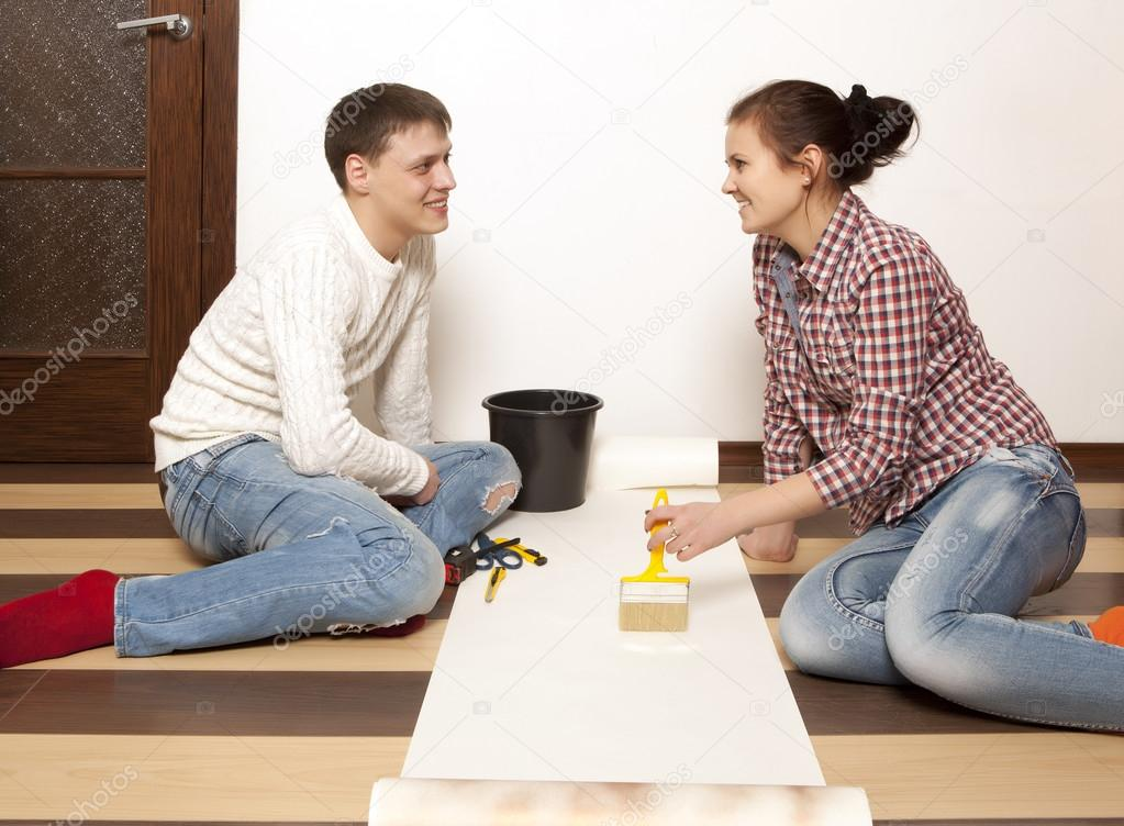 Wallpapers Matching For Couples Couple Putting New