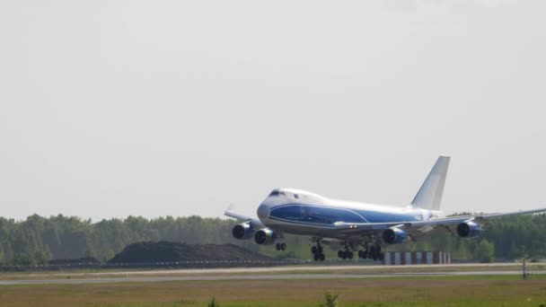 Cargolux Boeing 747 airfreight landing