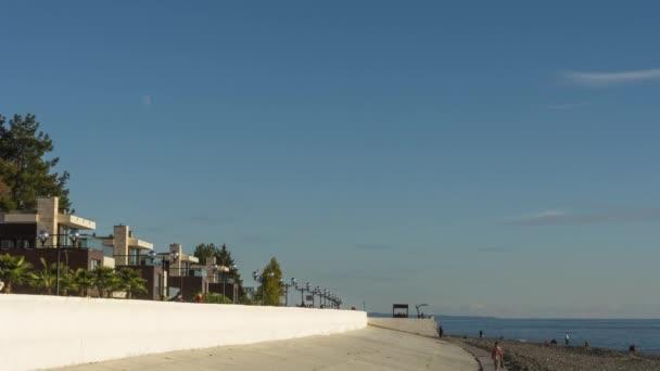 Embankment Sochi people
