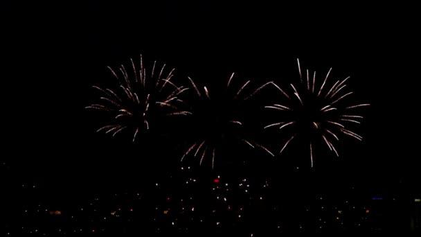 Feuerwerk geblitzt