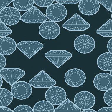 Pattern from diamond
