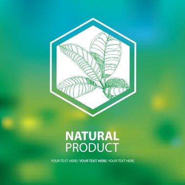 Organic natural logo