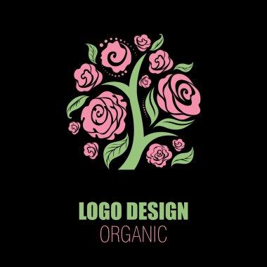 Organic natural logos