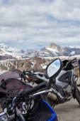 Fotografie Motocykly výlet v Dolomitech