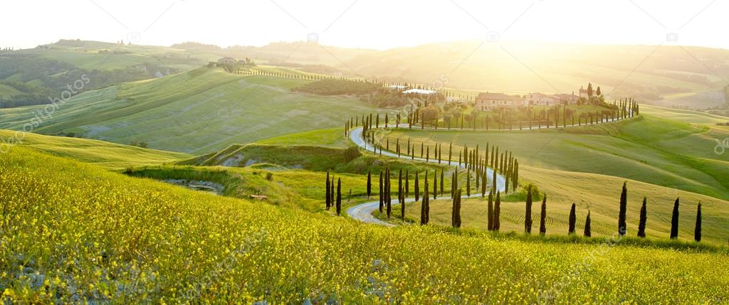 Landscape of Tuscany region