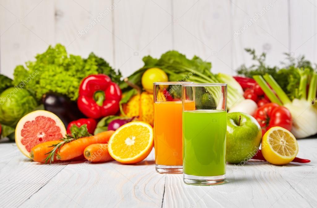 Сок овощной диета