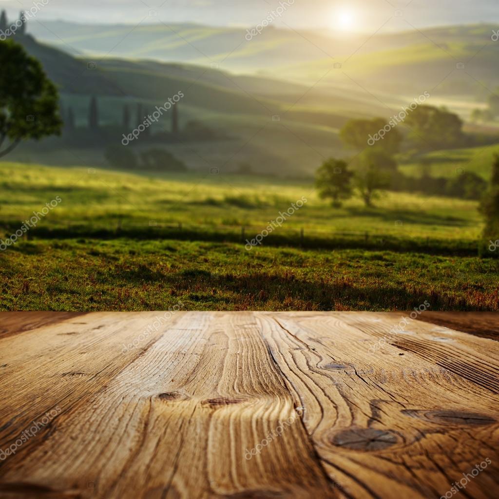 Background on the tuscany landscape