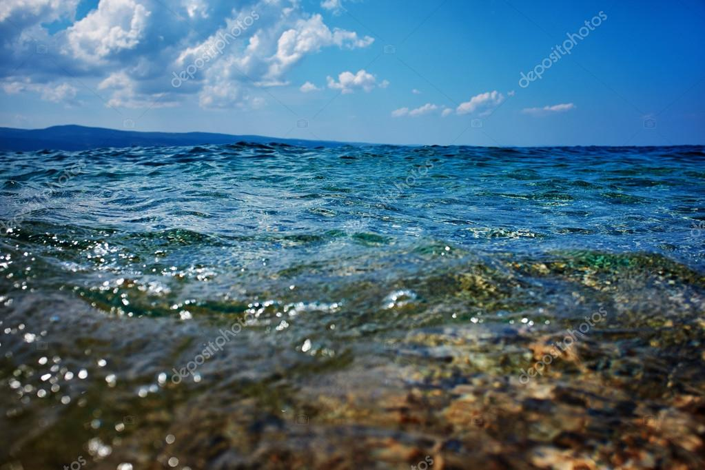 Adriatic sea background