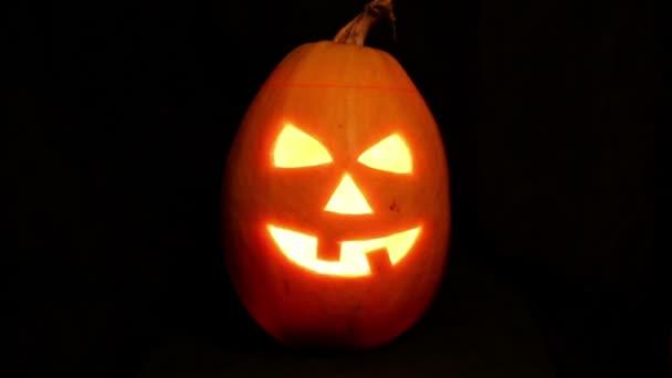 zapálil svíčku jack-o lucerna Halloween dýně