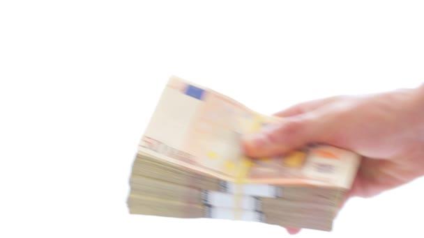 Corruption concept: money transfer