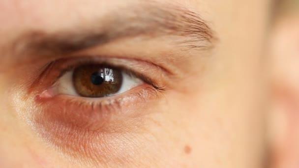 krásné mužské oko