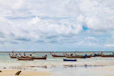 """Картина, постер, плакат, фотообои """"лодки в тропическом море. таиланд """", артикул 115901862"""