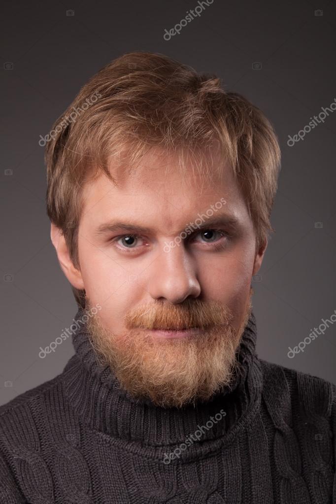ginger bearded man stock photo slavick 78931072