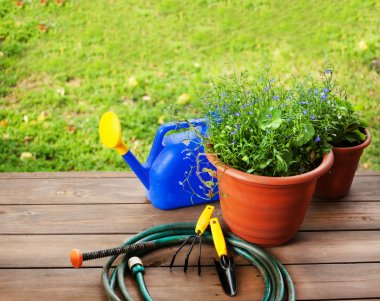 Garden accessories. Gardening