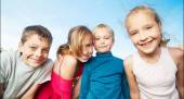Děti v létě