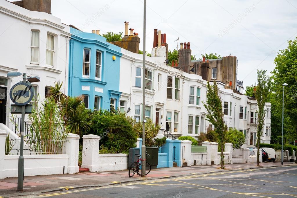 Town houses brighton england stock photo arsty for Brighton house