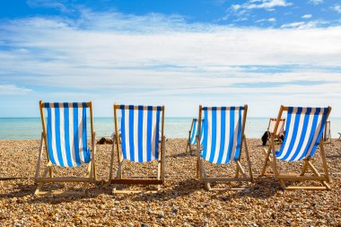 Brighton beach. Brighton, England