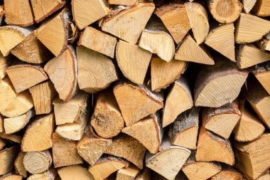 Fire wood stack