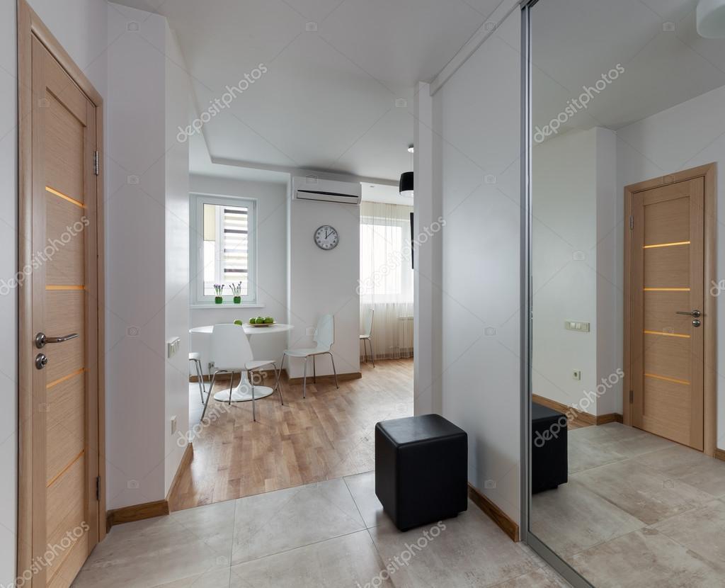 Interieur van modern appartement in scandinavische stijl u2014 stockfoto