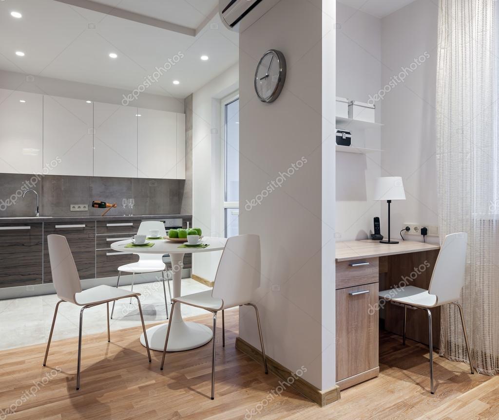 Interiore dell 39 appartamento moderno in stile scandinavo for Appartamento stile moderno