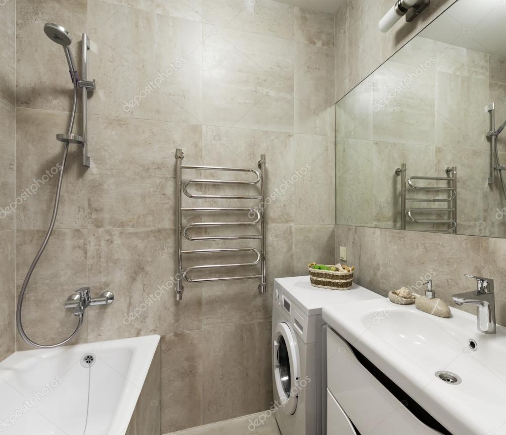 Salle De Bain Agrandir ~ int rieur de la salle de bain en style scandinave photographie