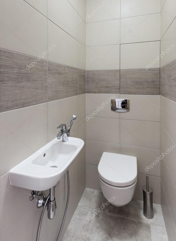 Moderne Toilette Interieur — Stockfoto © YegorP #111725352