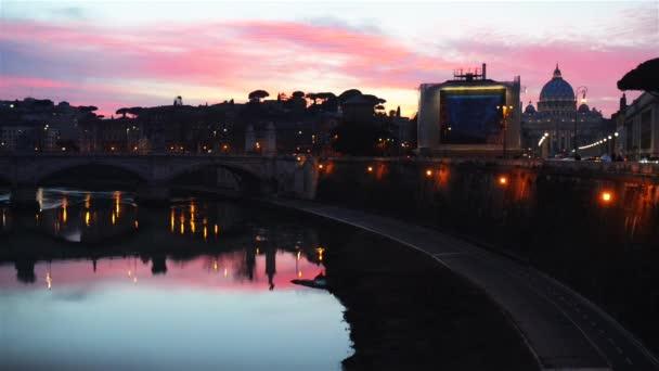 Ponte vittorio emanuele ii, v Římě, Itálie