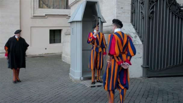 Swiss Guard at St. Peters Basilica, Vatican