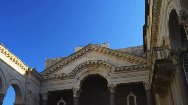 Diokleciánův palác, Split, Chorvatsko,