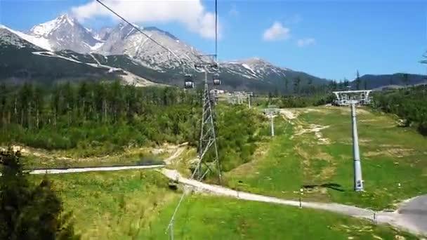 Výtah na Lomnickým štítem ve Vysokých Tatrách