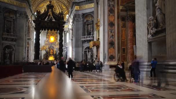 päpstliche basilika des heiligen peter in vatican, rom, italien