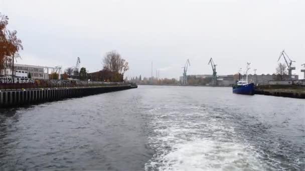 Danziger Werft in der Stadt Danzig, Polen
