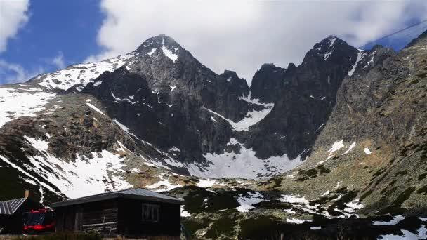 Time-Lapse: Lomnickým štítem ve Vysokých Tater na Slovensku