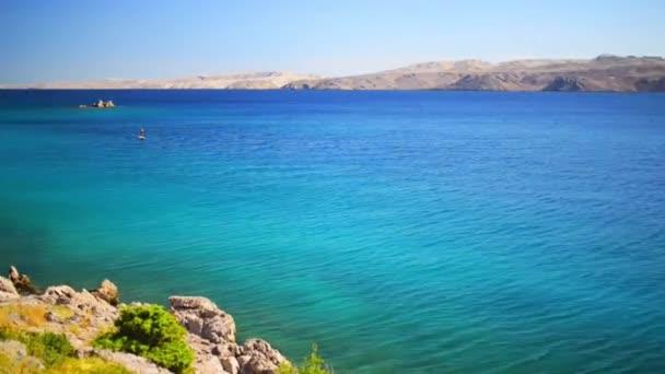 Croatian coast on Adriatic Sea