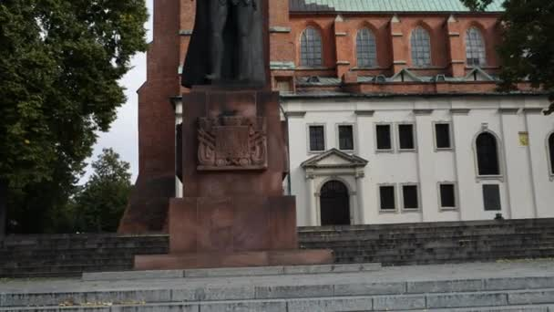 Monument of Boleslaw I Brave in Gniezno, Poland
