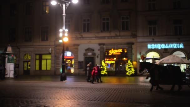 A Florianska utcán Krakkóban