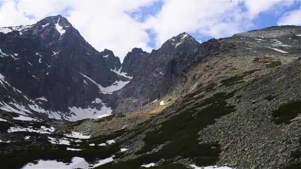 Time-Lapse: Lomnickým štítem je jedním z nejvyšší a nejvíce navštěvovaných horských vrcholů v pohoří Vysoké Tatry Slovensko.