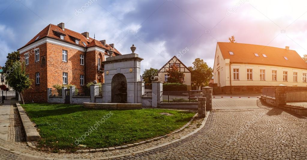 Old Building Of Red Brick. Gniezno, Is A City Located In Northern Poland,  On The Brda And Vistula Rivers. U2014 Photo By BestPhotoStudio