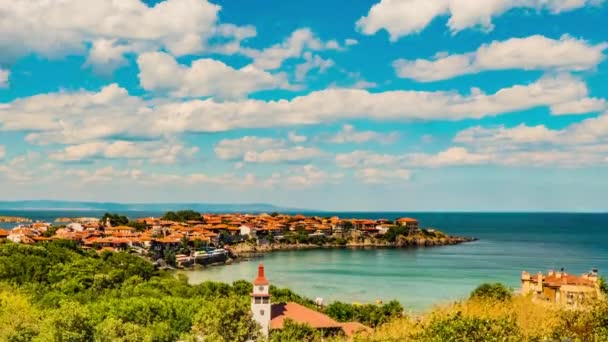 Timelapse: Sozopol is an ancient seaside town located 35 km south of Burgas on the southern Bulgarian Black Sea Coast. Today it is one of the major seaside resorts in the country.