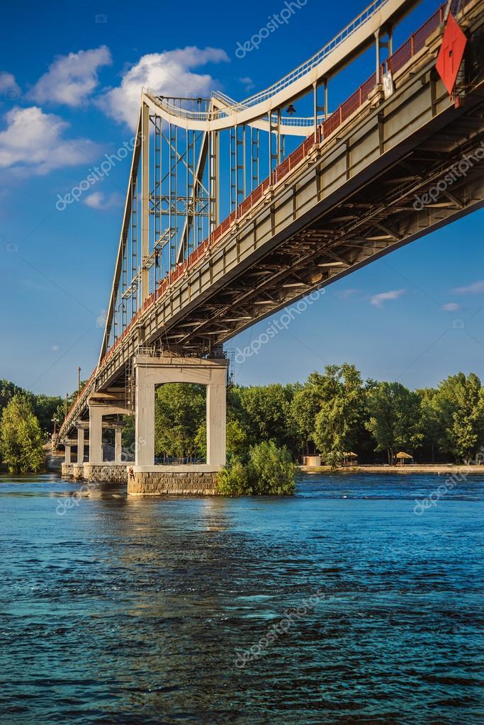 Park Bridge in Kyiv
