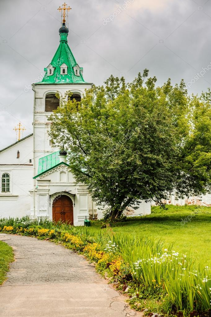 Trinity Cathedral in Alexandrovskaya village