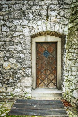 door in an ancient fortress