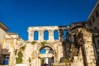 Diocletians Palace , Split, Croatia,