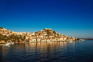 Sibenik is historic town in Croatia